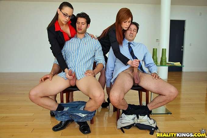 Follados y humillados en entrevista de trabajo - foto 3