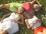 La felicidad de tres buenas amigas - Fotos Porno