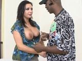 Vannah Sterling follando con un negro - Interracial