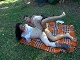 Follando con la zorra del camping - Morenas