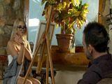 La pintora se deja dar por culo por el modelo - Anal