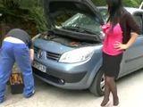 El coche ha dejado tirada a la madura - Casadas