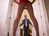 La provocativa mujer de un amigo viene a casa a verme - Porno HD