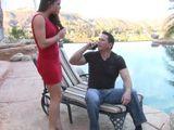 Como le queda a mi cuñada ese vestido rojo ajustado ... - Cuñadas