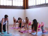 Que buenas están todas las tías de la clase de yoga - XXX