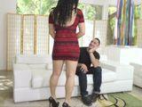 La pareja de mi hermano, una mulatita con un culazo - HD
