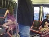 Ahí están, follando en la parte trasera del autobús !! - Xvideos