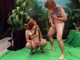 Sexo real entre actores en el ensayo de una obra de teatro - Cerdas