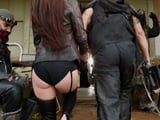Mi novio es el jefe de una peligrosa banda de moteros - XXX