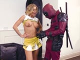 También los superhéroes graban porno: Deadpool XXX - Actrices Porno