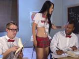 Katrina Jade, la alumna mas peligrosa de todo el instituto - Redtube